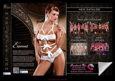 Exposed Lingerie Catalog 2013