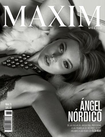 """Maxim Mexico """"February 2016"""""""