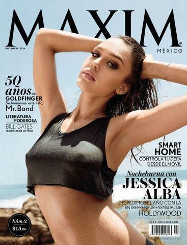 """Maxim Mexico """"December 2014"""""""