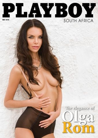 "Playboy South Africa – Sudádfrica ""May 2015"""