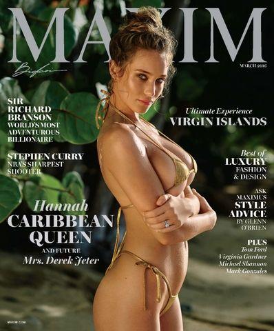 "Maxim USA ""February 2016"" Hannah Davis"