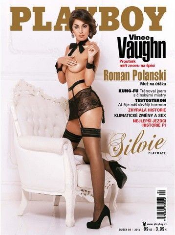 "Playboy Czech – Republica Checa ""April 2015"""