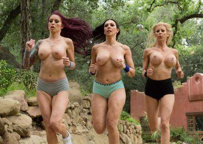 Alexis Fawx, Monique Alexander, Rachel Starr - A Side Piece Of Pornstars 0471