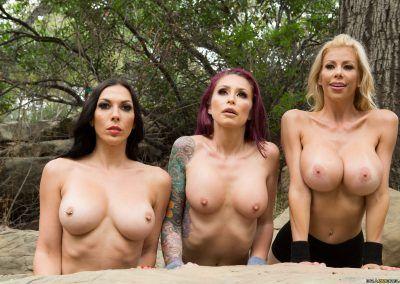 Alexis Fawx, Monique Alexander, Rachel Starr - A Side Piece Of Pornstars 0478