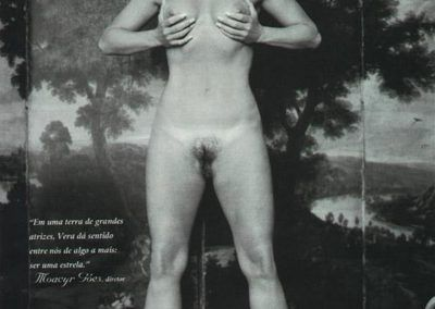 """Playboy Brazil """"January 2000"""" Vera Fischer (13)"""