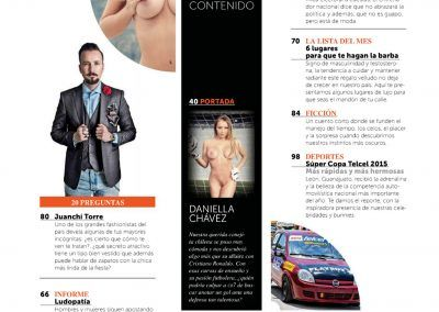 Playboy Mexico July 2015 Daniella Chavez (2)