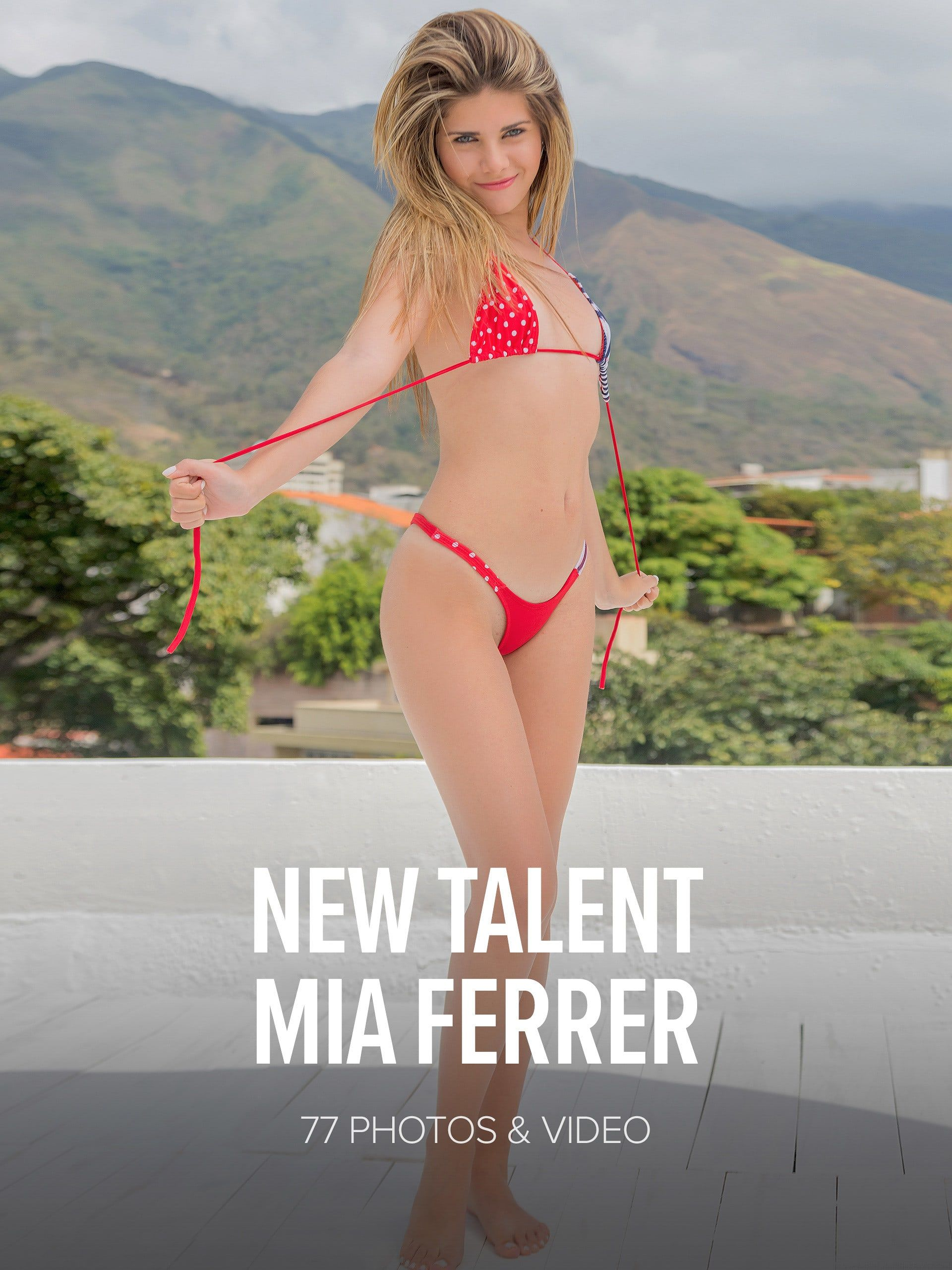 Mia Ferrer New Talent Mia Ferrer