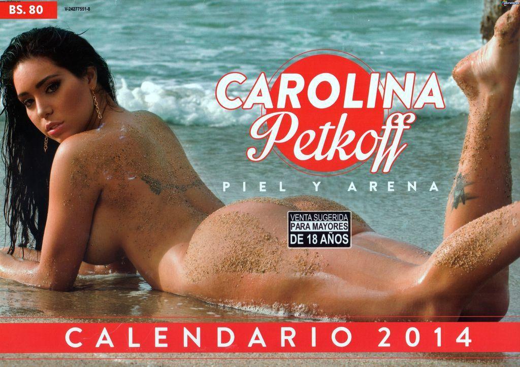 Calendario Carolina Petkoff 2014