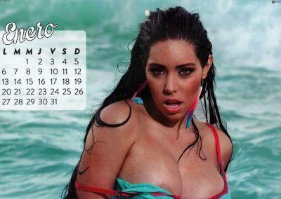 Calendario Carolina Petkoff 2014 (2)
