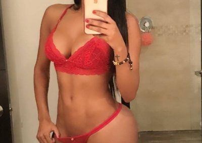 Clara Diago una infartante modelo colombiana