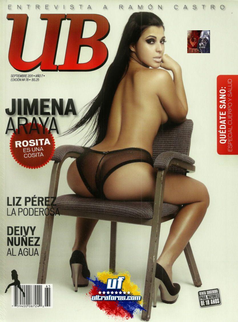 Urbe Bikini Septiembre 2011 – Jimena Araya
