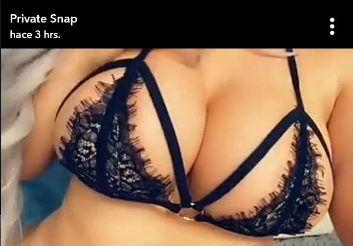 Laci Kay Somers strip show snapchat