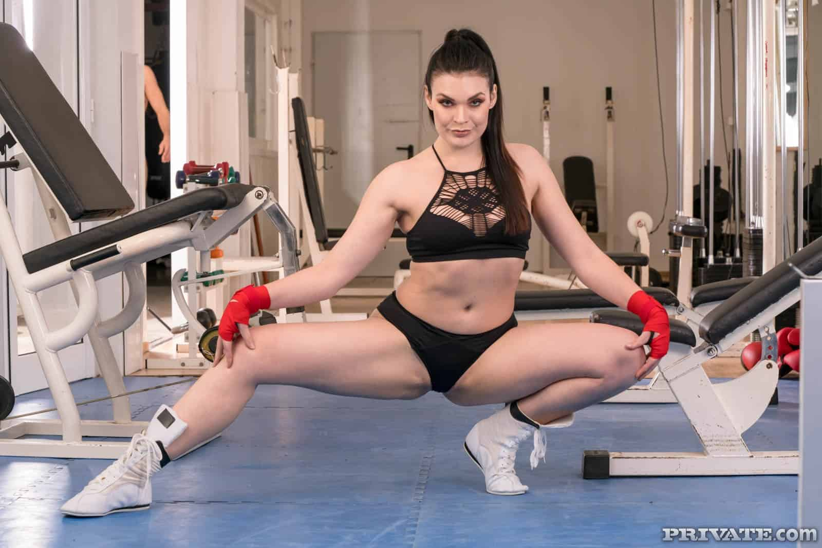 """Hánnah Vivienne """"Trainer on the Ropes in Anal Threesome"""""""