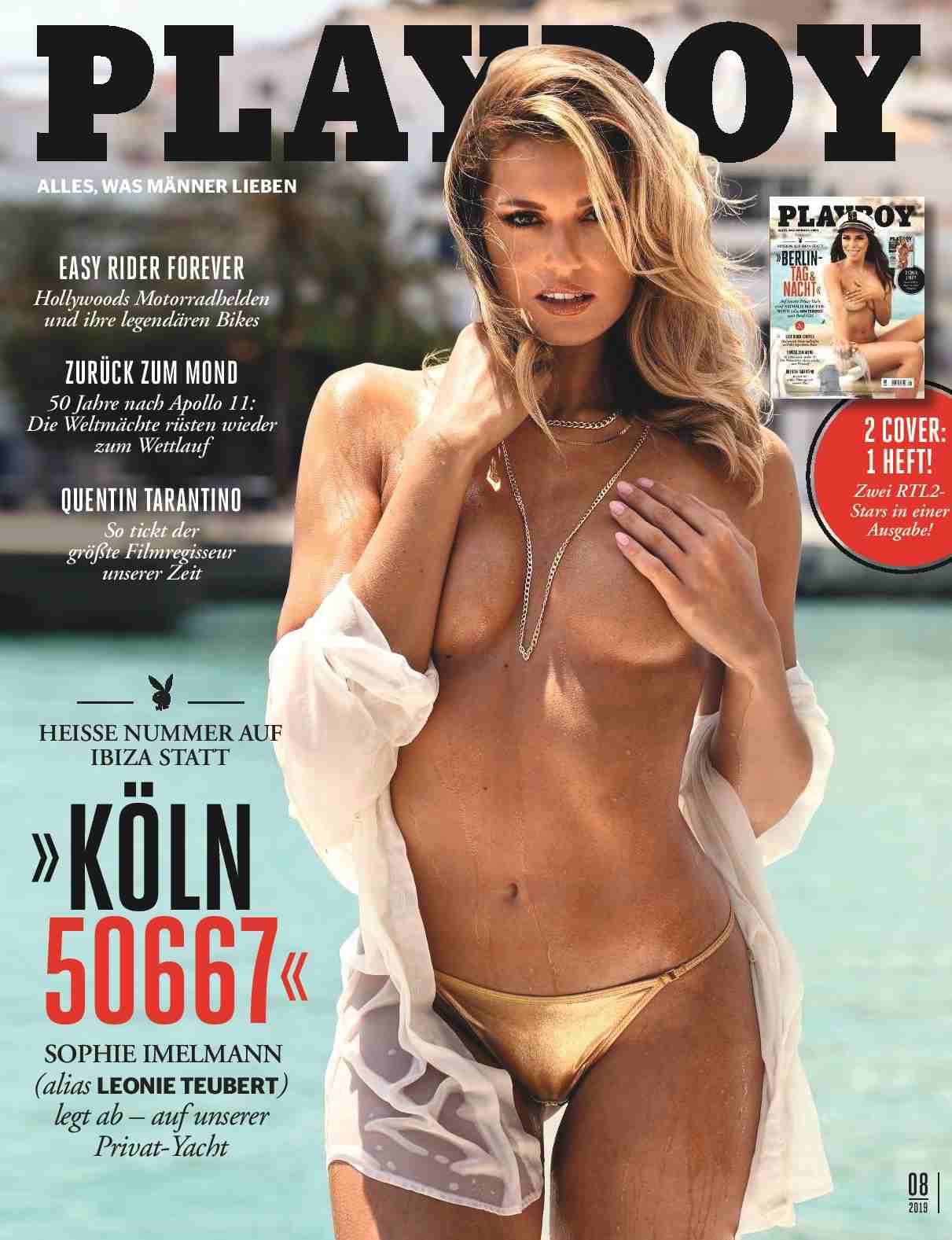 "Playboy Germany ""August 2019"""