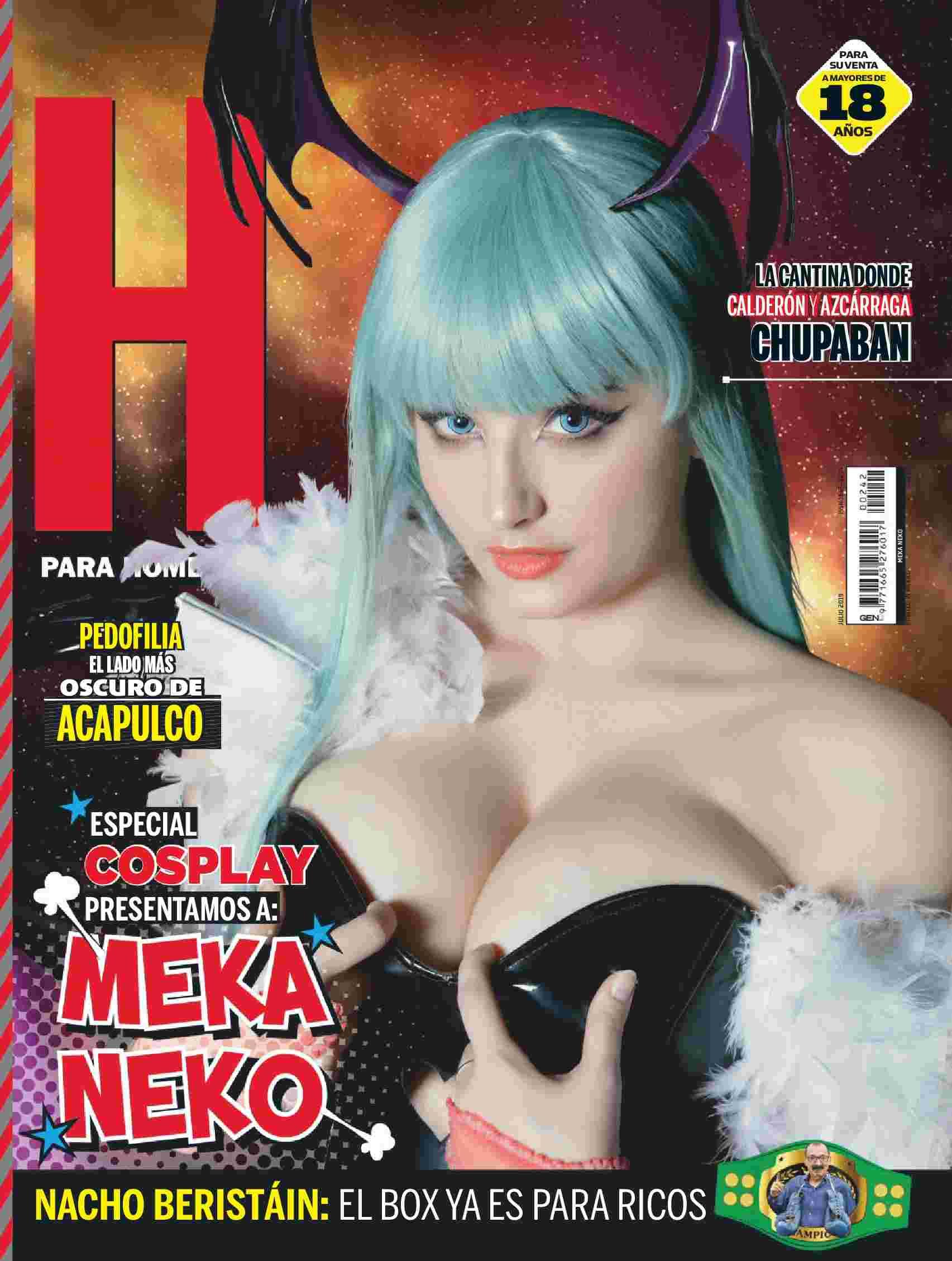 """Revista H para Hombres México """"Julio 2019"""""""