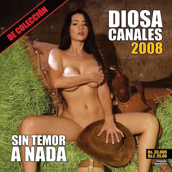 Diosa Canales Calendario 2008