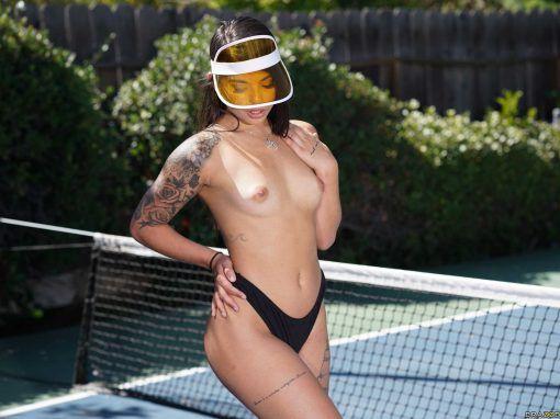 """Gina Valentina """"Tennis Balls Deep"""""""