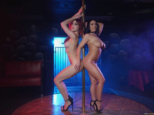 "Angela White, Molly Stewart ""Swing Fling"" Part 1"