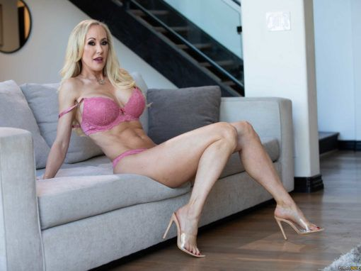 Brandi Love Red-Hot Calendar Shoot