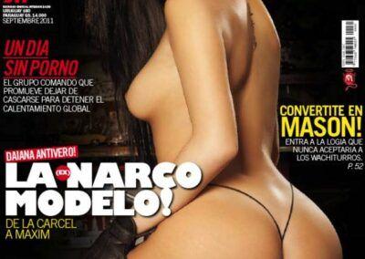 Daiana Antivero MAXIM Argentina Septiembre 2011