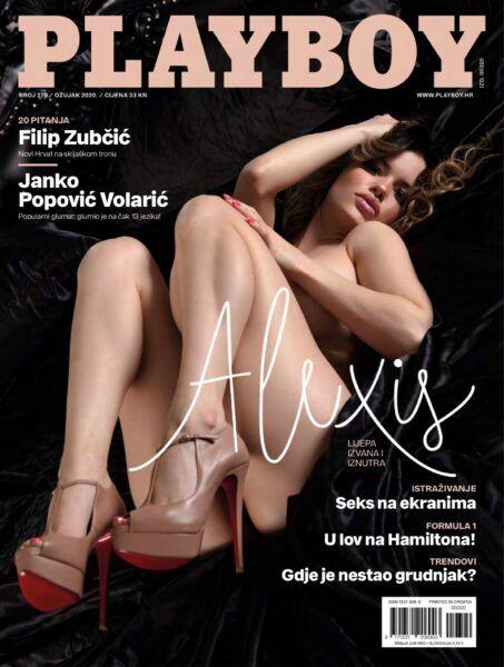 Playboy Croatia Macrh 2020