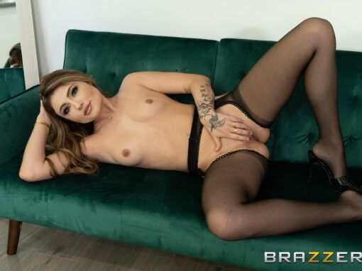 Adria Rae Alone With BF's Pervy Roommate