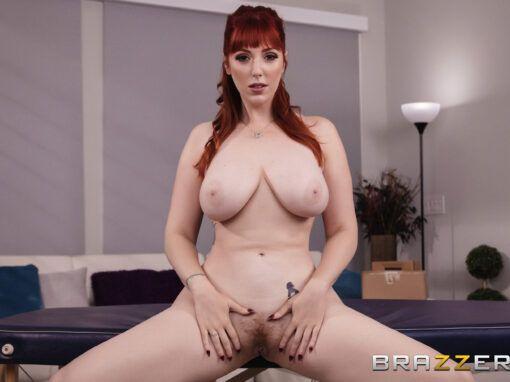 Lauren Phillips Stiff Roommate Massage